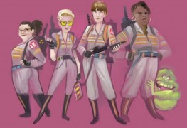 Ghostbusters by Miguel Delicado