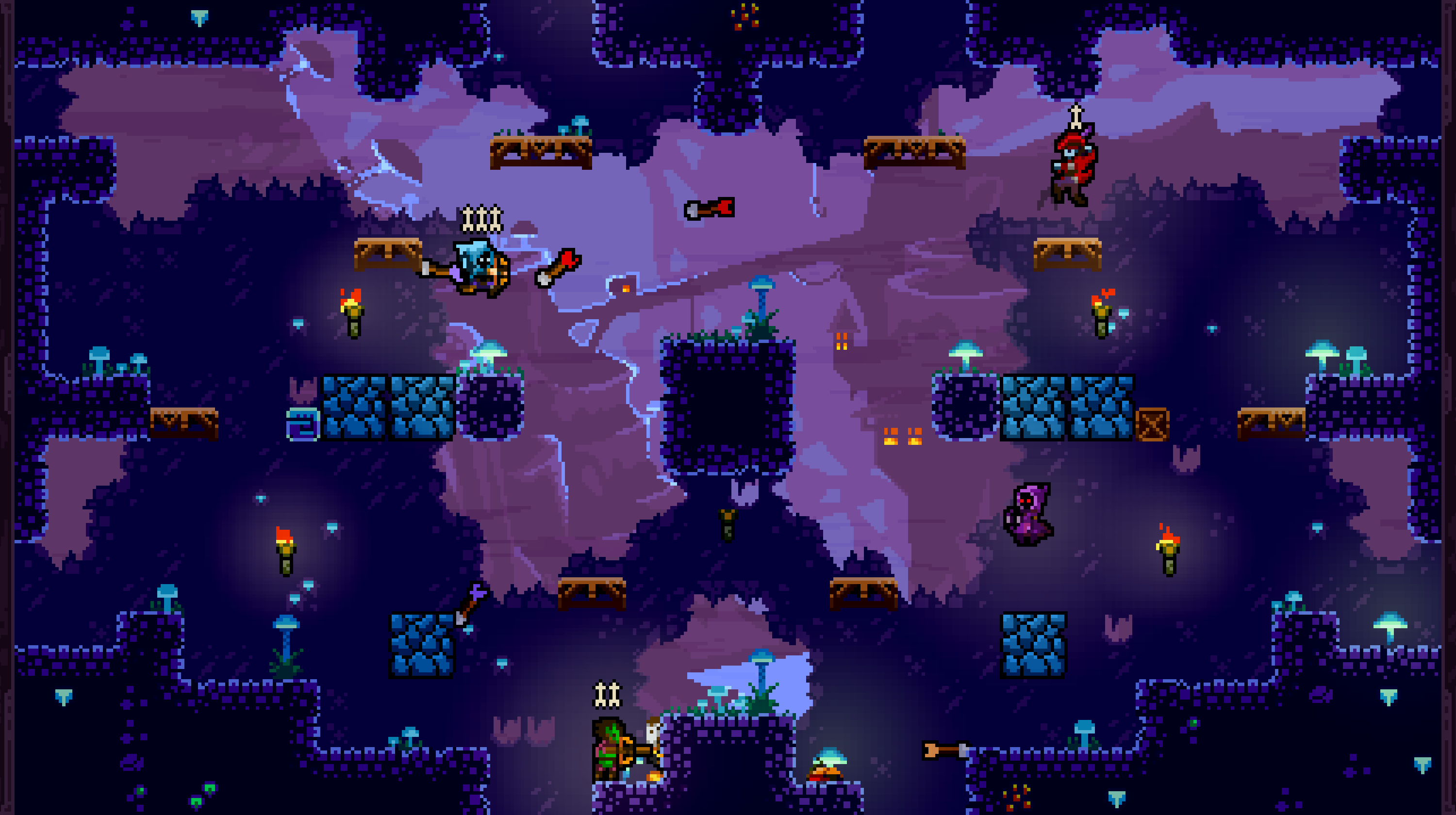 Towerfall 8 players